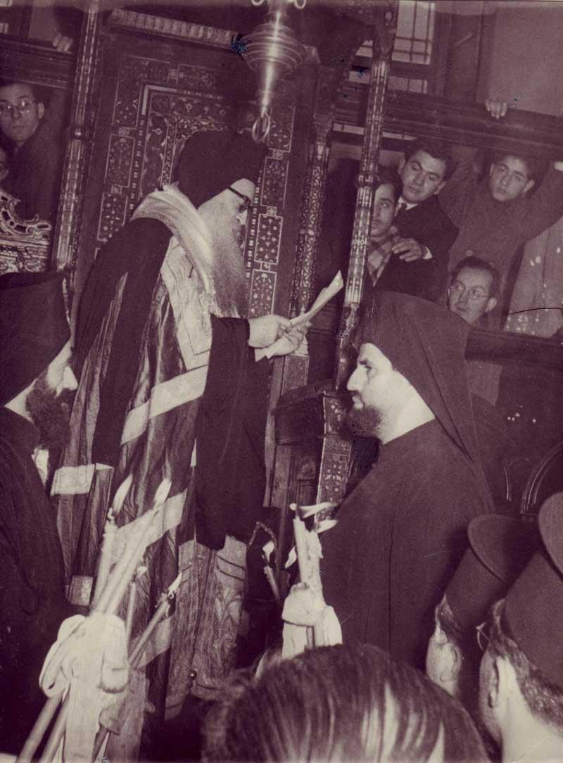 ἐνθρόνηση τοῦ Οἰκουμενικοῦ Πατριάρχη μακαριστοῦ Ἀθηναγόρα